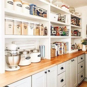 Incredible Kitchen Pantry Design Ideas To Optimize Your Small Space 47