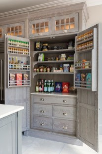 Incredible Kitchen Pantry Design Ideas To Optimize Your Small Space 49