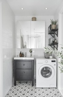 Inexpensive Tiny Laundry Room Design Ideas With Nature Touches 03