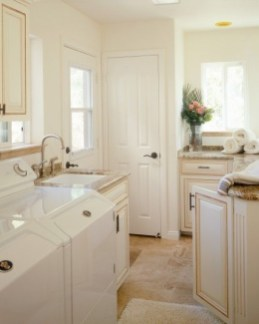 Inexpensive Tiny Laundry Room Design Ideas With Nature Touches 07