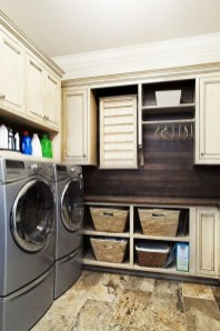 Inexpensive Tiny Laundry Room Design Ideas With Nature Touches 12