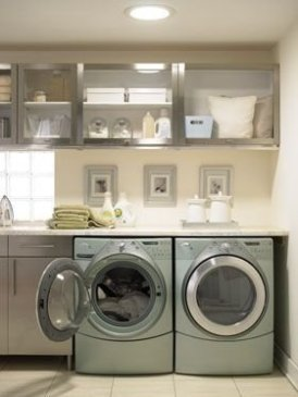 Inexpensive Tiny Laundry Room Design Ideas With Nature Touches 15