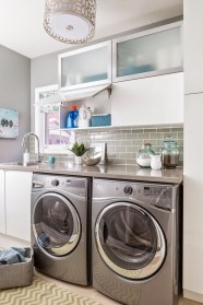 Inexpensive Tiny Laundry Room Design Ideas With Nature Touches 22