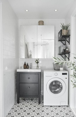 Inexpensive Tiny Laundry Room Design Ideas With Nature Touches 24