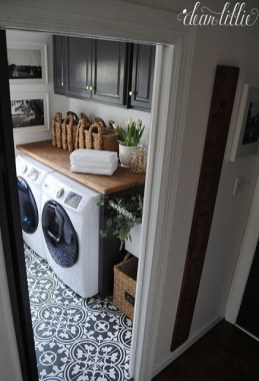 Inexpensive Tiny Laundry Room Design Ideas With Nature Touches 42