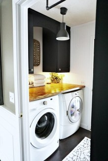 Inexpensive Tiny Laundry Room Design Ideas With Nature Touches 46