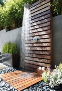 Sophisticated Outdoor Bathroom Design Ideas That Feel Like A Vacation 10
