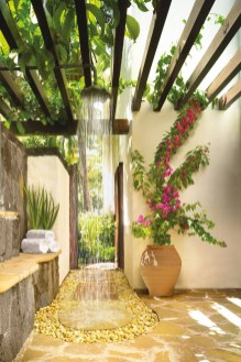 Sophisticated Outdoor Bathroom Design Ideas That Feel Like A Vacation 30