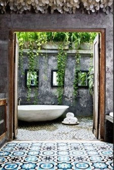 Sophisticated Outdoor Bathroom Design Ideas That Feel Like A Vacation 37