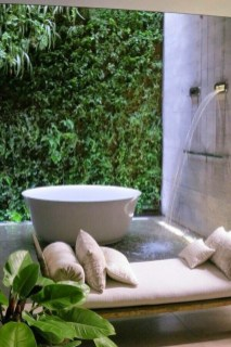 Sophisticated Outdoor Bathroom Design Ideas That Feel Like A Vacation 50