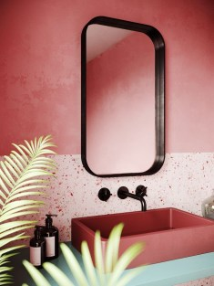 Sophisticated Pink Colors Design Ideas To Transform Your Bathroom 13