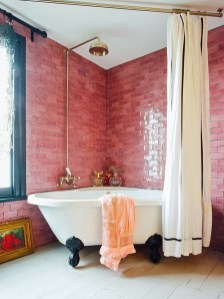 Sophisticated Pink Colors Design Ideas To Transform Your Bathroom 31