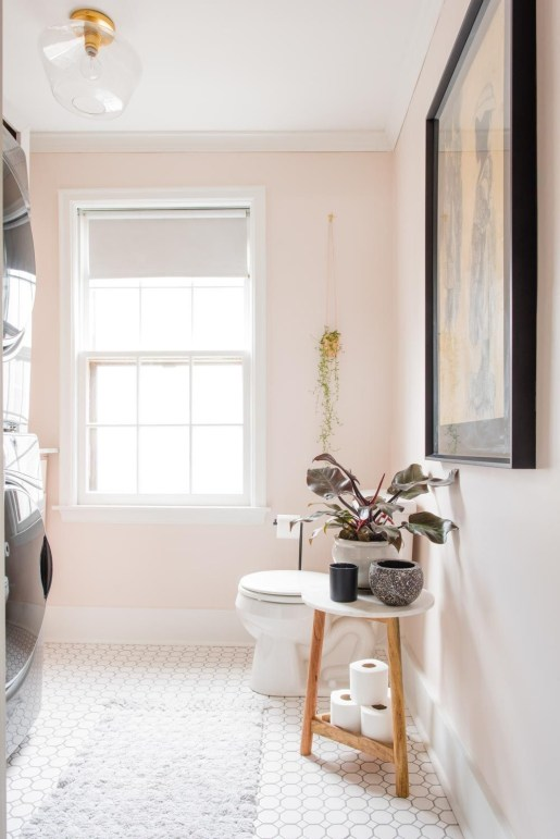 Sophisticated Pink Colors Design Ideas To Transform Your Bathroom 40