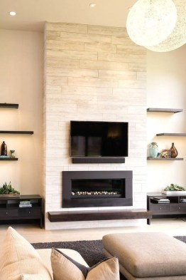 Superb Fireplaces Design Ideas Without Fire To Try In Your Home 08