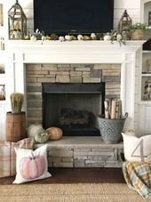 Superb Fireplaces Design Ideas Without Fire To Try In Your Home 09