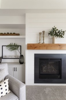 Superb Fireplaces Design Ideas Without Fire To Try In Your Home 21