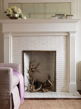 Superb Fireplaces Design Ideas Without Fire To Try In Your Home 24