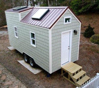 Adorable Tiny Houses Design Idea With 160 Square Feet That You Need To Try 01