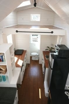 Adorable Tiny Houses Design Idea With 160 Square Feet That You Need To Try 16