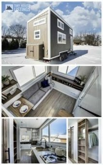 Adorable Tiny Houses Design Idea With 160 Square Feet That You Need To Try 27