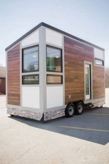 Adorable Tiny Houses Design Idea With 160 Square Feet That You Need To Try 28