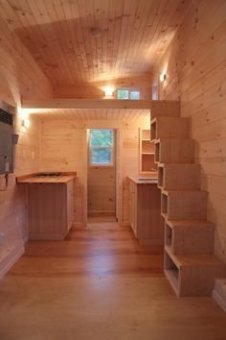 Adorable Tiny Houses Design Idea With 160 Square Feet That You Need To Try 30