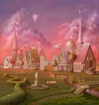 Affordable Fairy Tale Cottage Design Ideas With Three Little Pigs 49