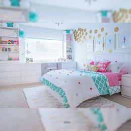 Beautiful Girl Bedroom Design Ideas That Looks So Charming 01