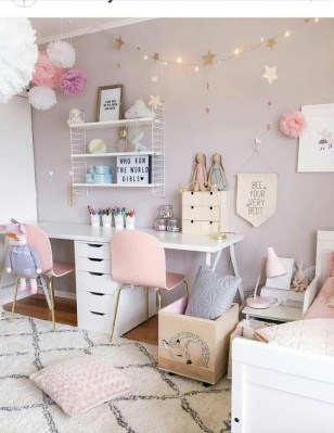 Beautiful Girl Bedroom Design Ideas That Looks So Charming 07