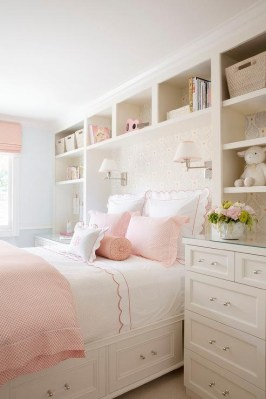 Beautiful Girl Bedroom Design Ideas That Looks So Charming 08