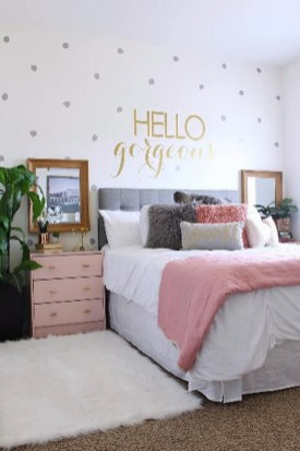 Beautiful Girl Bedroom Design Ideas That Looks So Charming 15