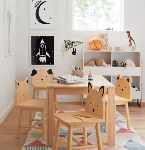 Beautiful Kids Furniture Design Ideas With Animal Shaped That You Must Try 17