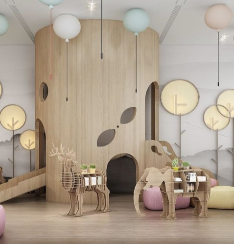 Beautiful Kids Furniture Design Ideas With Animal Shaped That You Must Try 30
