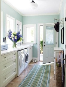 Best Tiny Laundry Spaces Design Ideas That So Functional 01