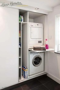 Best Tiny Laundry Spaces Design Ideas That So Functional 05