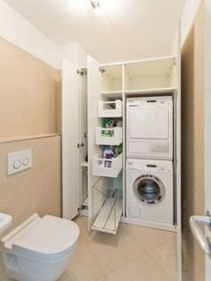 Best Tiny Laundry Spaces Design Ideas That So Functional 12