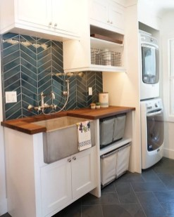 Best Tiny Laundry Spaces Design Ideas That So Functional 19