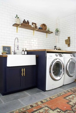 Best Tiny Laundry Spaces Design Ideas That So Functional 24