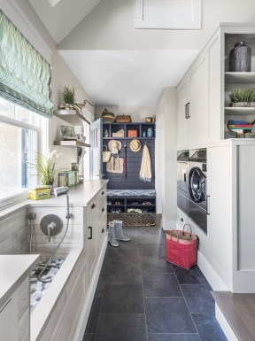 Best Tiny Laundry Spaces Design Ideas That So Functional 27