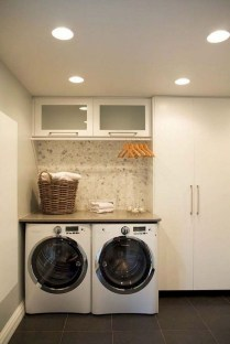 Best Tiny Laundry Spaces Design Ideas That So Functional 46