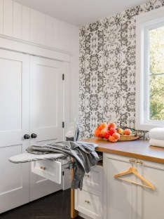 Best Tiny Laundry Spaces Design Ideas That So Functional 49