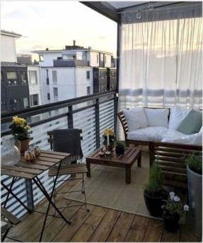 Comfy Balcony Design Ideas To Try Right Now 09