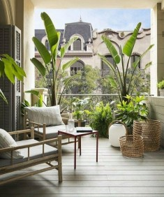 Comfy Balcony Design Ideas To Try Right Now 11