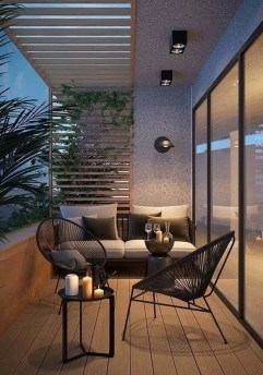 Comfy Balcony Design Ideas To Try Right Now 16