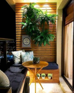 Comfy Balcony Design Ideas To Try Right Now 22