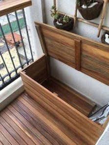 Comfy Balcony Design Ideas To Try Right Now 40