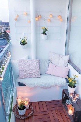 Comfy Balcony Design Ideas To Try Right Now 45