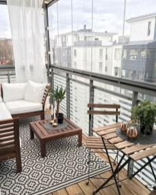 Comfy Balcony Design Ideas To Try Right Now 48