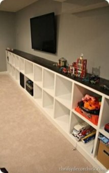 Cozy Basement Renovations Design Ideas For Kids Room That Looks So Awesome 26