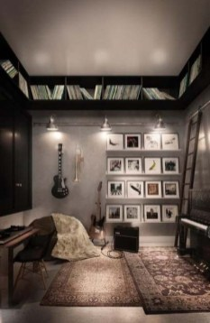 Cozy Bedroom Design Ideas With Music Themed That Everyone Will Like It 06